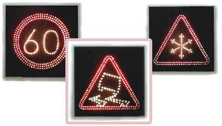дорожные светодиодные знаки