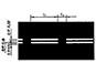двойная прерывистая линия (1.8)